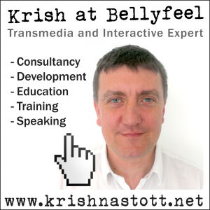 Krish at Bellyfeel - Interactive and Transmedia Consultancy