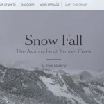 Interactive: Snow Fall, The Avalanche at Tunnel Creek