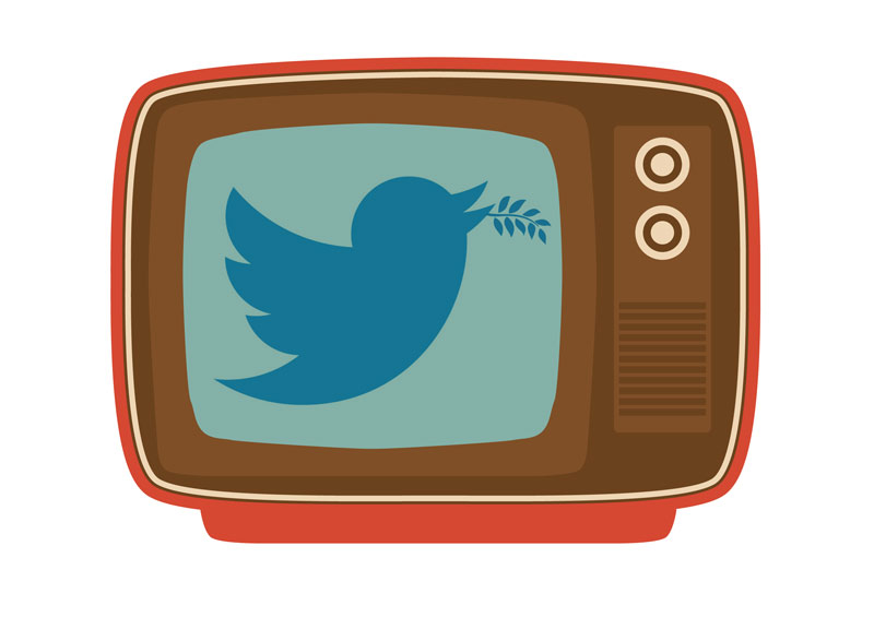 A Social Olive Branch To TV